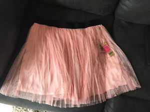 NEW Pink Tulle Skirt XL