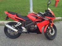 Honda cbr125 2008 negotiable