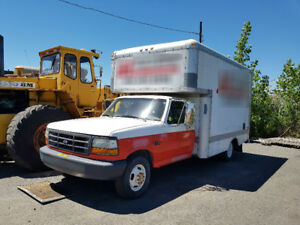 1996 Ford F-350 Service Truck