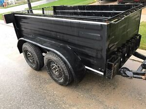 4x8 Tandem Trailer, BRAND NEW TIRES