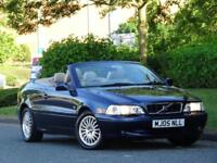 Volvo C70 2.0 Auto 2005 CONVERTIBLE +1 OWNER +13 SERVICE STAMPS