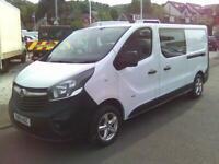 Vauxhall Vivaro 1.6 CDTi 2900 BiTurbo ecoFLEX Crew Van L2 H1 EU5 (s/s) 5dr (6 Se
