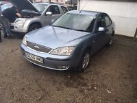 Spares or repair read for details ford mondeo 2006