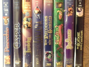 VHS Cartoons and family films