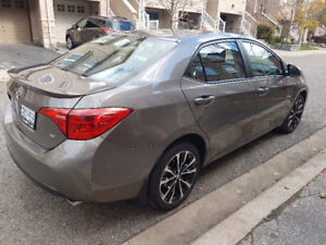 TAKEOVER the lease of this nice 2017 Toyota Corolla SE. MANUAL