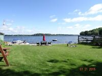 Waterfront Cottage on Rice Lake, 3 bedr, Water Bouncer,Trampolin