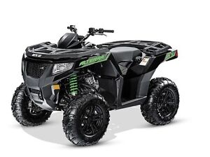 2016 Arctic Cat Alterra 500 XT Black Metallic