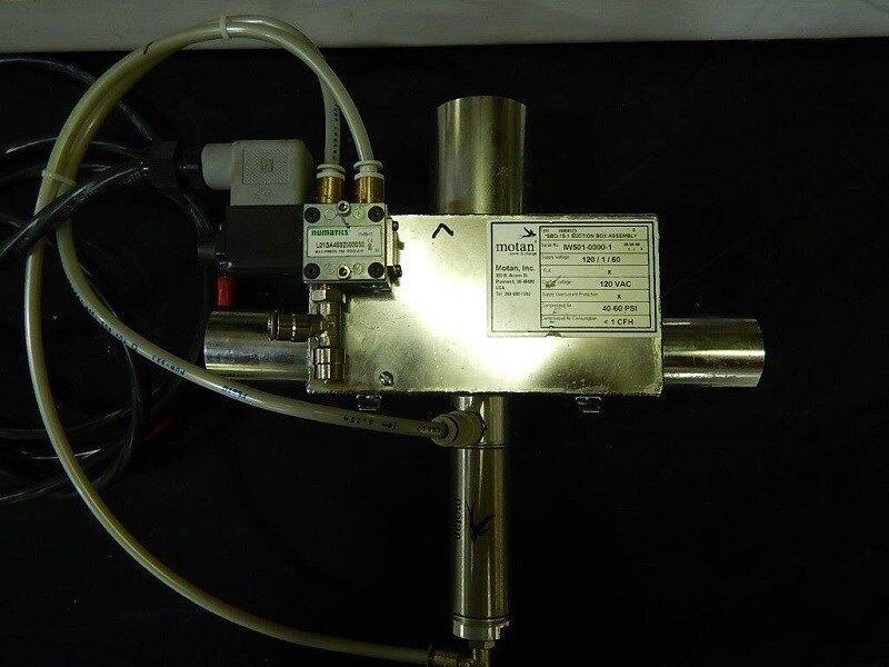 Motan SBD-15-1 Suction Box Assembly