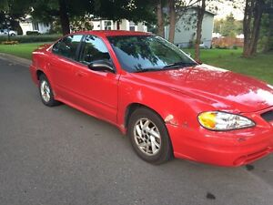 2004 V6 Pontiac Grand Am