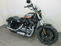 HARLEY DAVIDSON XL1200 XS FORTY EIGHT SPECIAL, 19 REG 1229 MILES, 1200 SPORTS...