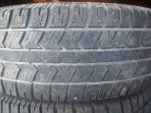 265 70R 17 ARCTIC CLAW Winter Tires, Worn but CHEAP