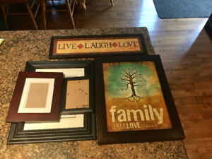 Wall art and frames for sale