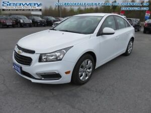 2016 Chevrolet Cruze Limited 1LT  - out of province - $100.68 B/