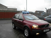 Volvo XC90 2.4 geartronic 2004MY D5 S 7 SEATER AUTO