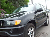 2002 BMW X5 3.0LT SUV, AUTO,LOADED,LEATHER,SUNROOF,CERT$5475