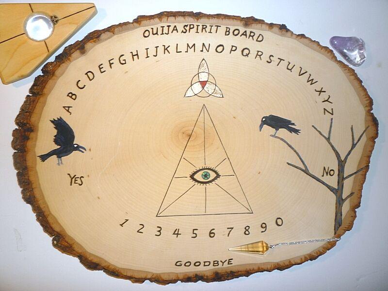 Ouija Spirit Board  Wiccan Pagan