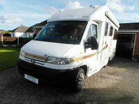 Autocruise Starspirit - 2002 - Rear Lounge - 2 Berth
