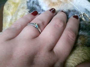 Birthstone ring for December and August!