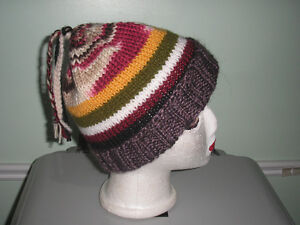 HAND KNIT TOQUES/SLOUCHIES
