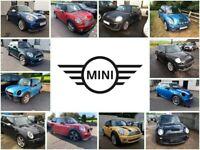 MINI Breaking Parts - R50, R52, R53, R55, R56, R57 - Mini Parts One, Cooper, Cooper S, JCW, Cooper D
