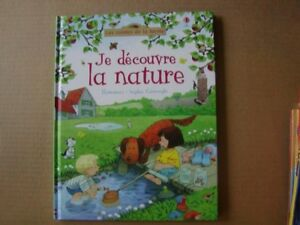 FRENCH BOOKS FOR CHILDREN - JE DECOUVRE LA NATURE