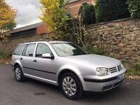 2003 Volkswagen Golf 2.0 Estate Cruise Control Service Records