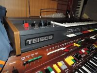 Analogue monophonic teisco synthesizer