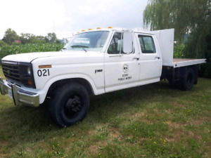 1986 Ford F350 Dually crew cab
