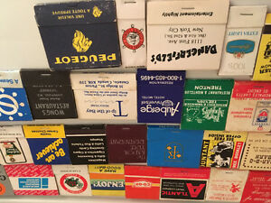 Collectible matches from all over