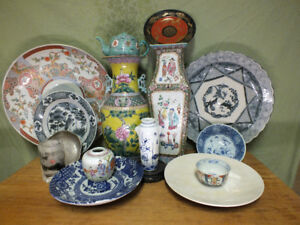 Large Collection of Asian Antiques Chinese Japanese Islamic Etc.