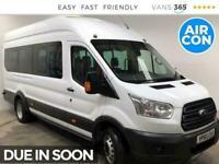 2015 Ford Transit 460 Trend 2.2TDCI 125PS XLWB L4 18 Seater Minibus Diesel Manua