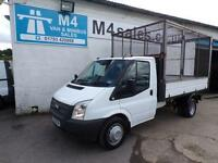 Ford Transit 350 S/C CAGED TIPPER 125PS