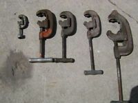 rigid pipe cutters ,various sizes
