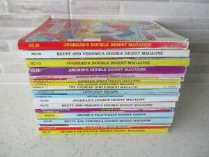 18 ARCHIE/BETTY & VERONICA/JUGHEAD DIGEST MAGAZINES~