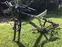 Good for parts, Raleigh mountain bike frame