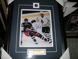 tie domi autographed 8x10 fight photo framed and matted Cambridge Kitchener Area image 3