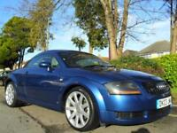 AUDI TT COUPE 1.8 T QUATTRO 2003 FSH 12 STAMPS COMPLETE WITH M.O.T HPI CLEAR