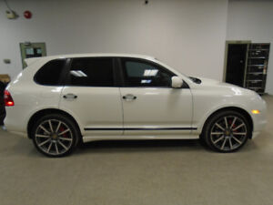 2009 PORSCHE CAYENNE GTS! 405HP! RARE! WHITE ON BLACK! $19,900!