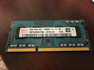 4GB (2x2GB) laptop memory - DDR3 SO-DIMM - MacBook Pro, Mac Mini