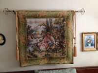 Tapisserie Murale *** Decorative wall Tapestry Watch|Share |Prin