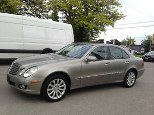 2007 MERCEDES-BENZ E280 4-MATIC ALL WHEEL DRIVE CLEAN CAR-PROOF