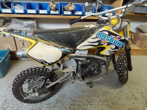 PARTS BIKE ONLY - BOS BUILT 90CC DIRTBIKE