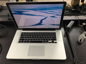 "MacBook Pro 15.4"" Core i5 2.53GHz 8GB 160GB SSD with Office 2011"