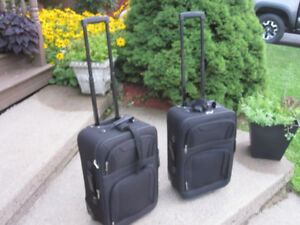 "Wheeled Carry-on Suitcase/Luggage with Tote Bag ""NEW"""