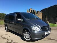 2013 Mercedes-Benz Vito 2.1CDi Compact Dualiner **One Owner From New**