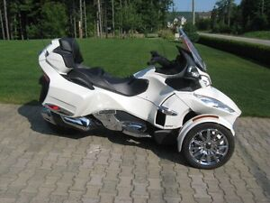 canam spyder rt limited 2013