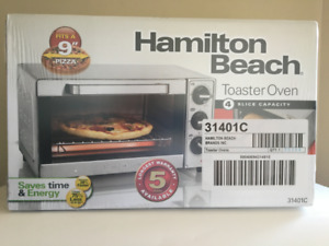 Hamilton Beach Toaster Oven, Pizza Maker, Large Capacity