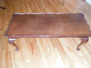 Beautiful antique coffee table