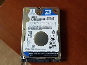 WD 500GB Laptop Harddrive