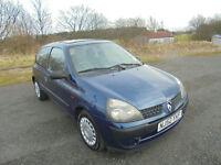 2002 Renault Clio 1.5dCi 65 Expression DIESEL